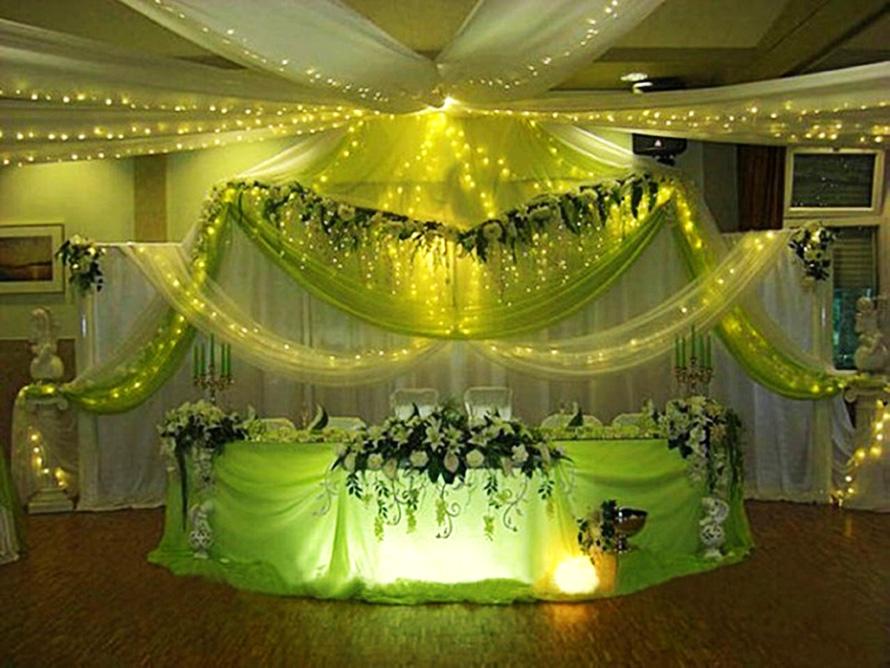 Выбор и декорирование банкетного зала на свадьбу