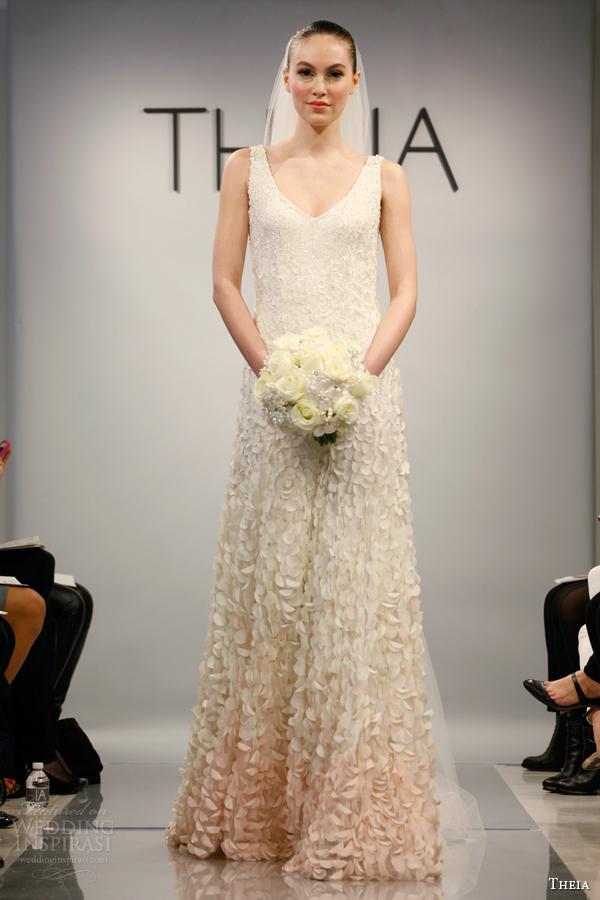 Свадебное платье 2014 омбре