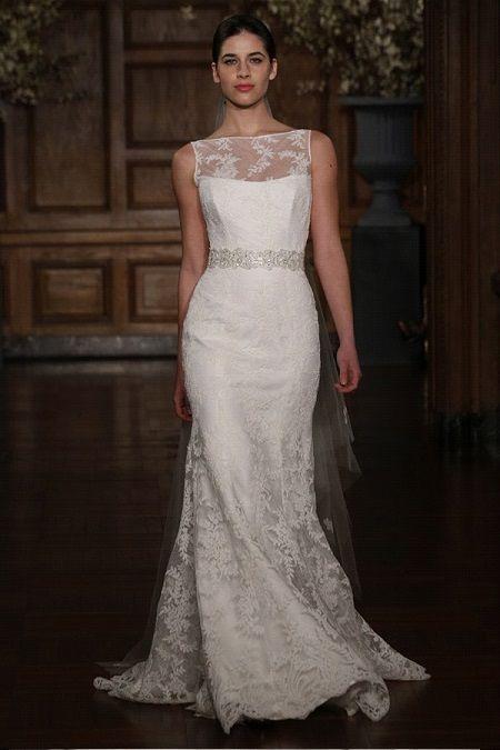 Свадебное платье 2014 прозрачное декольте