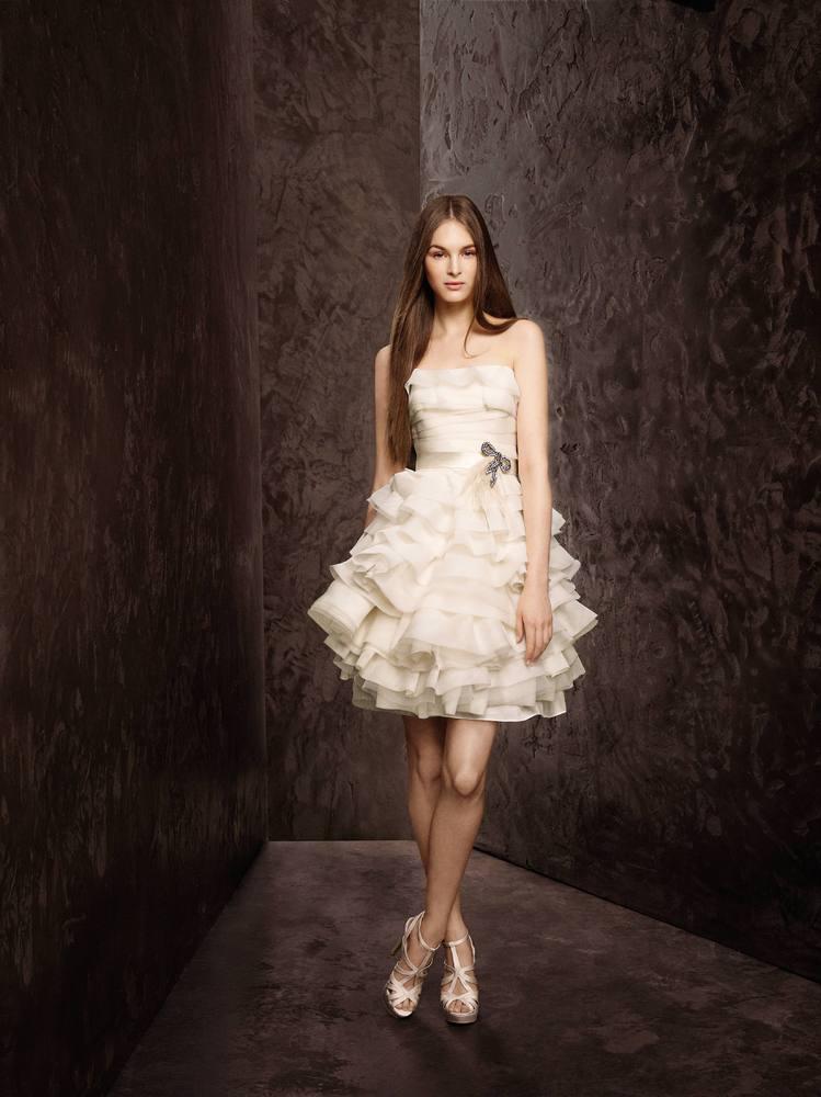 Свадебное платье 2014 мини