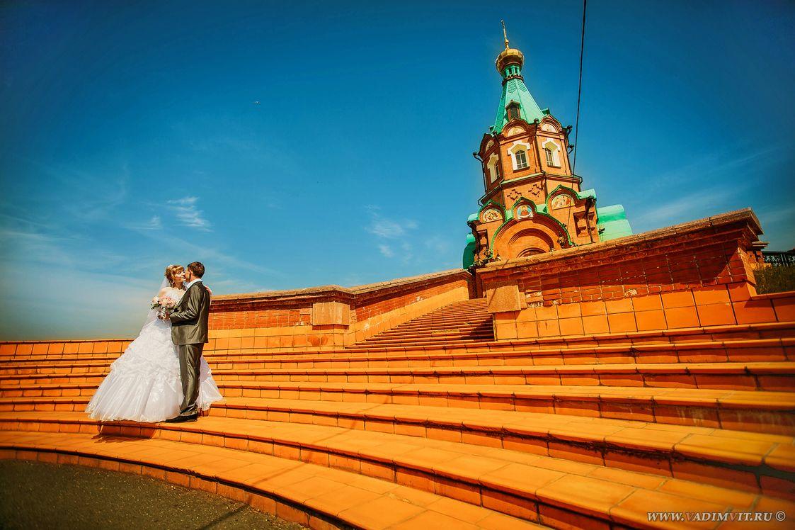 Красивые места для фотосессии в Красноярске. Свято-Никольский храм (за ТК Красноярье)
