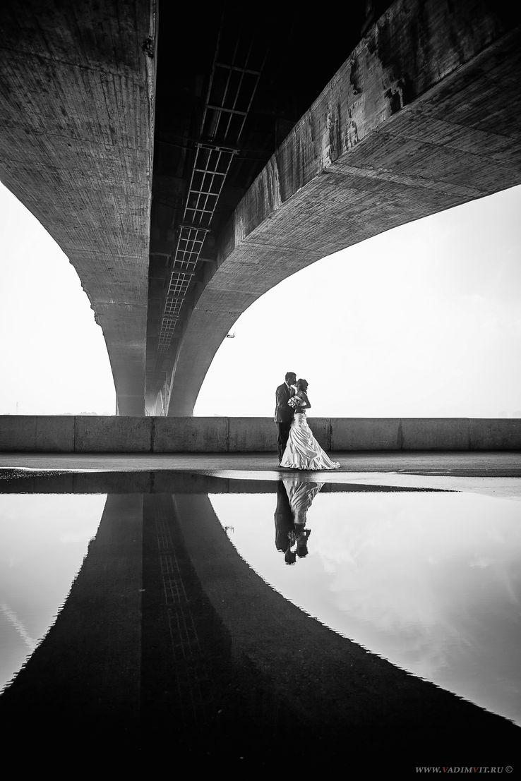 Красивые места для фотосессии. Коммунальный мост