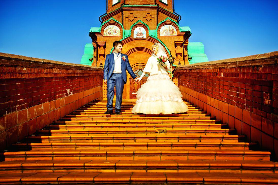 Храмы Красноярска. Красивые места для фотосессии. Свято-Никольский храм
