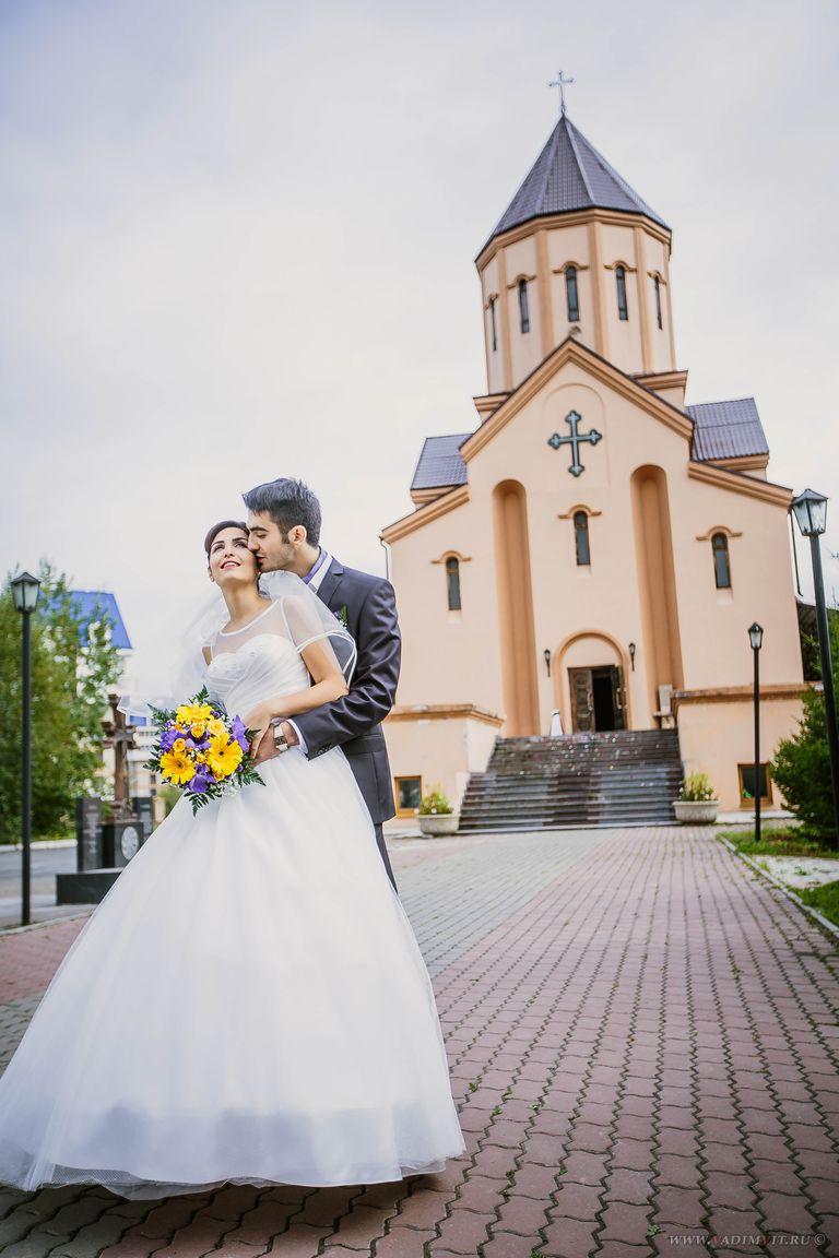 Церкви Красноярска. Красивые места для фотосессии. Церковь Святого Саркиса