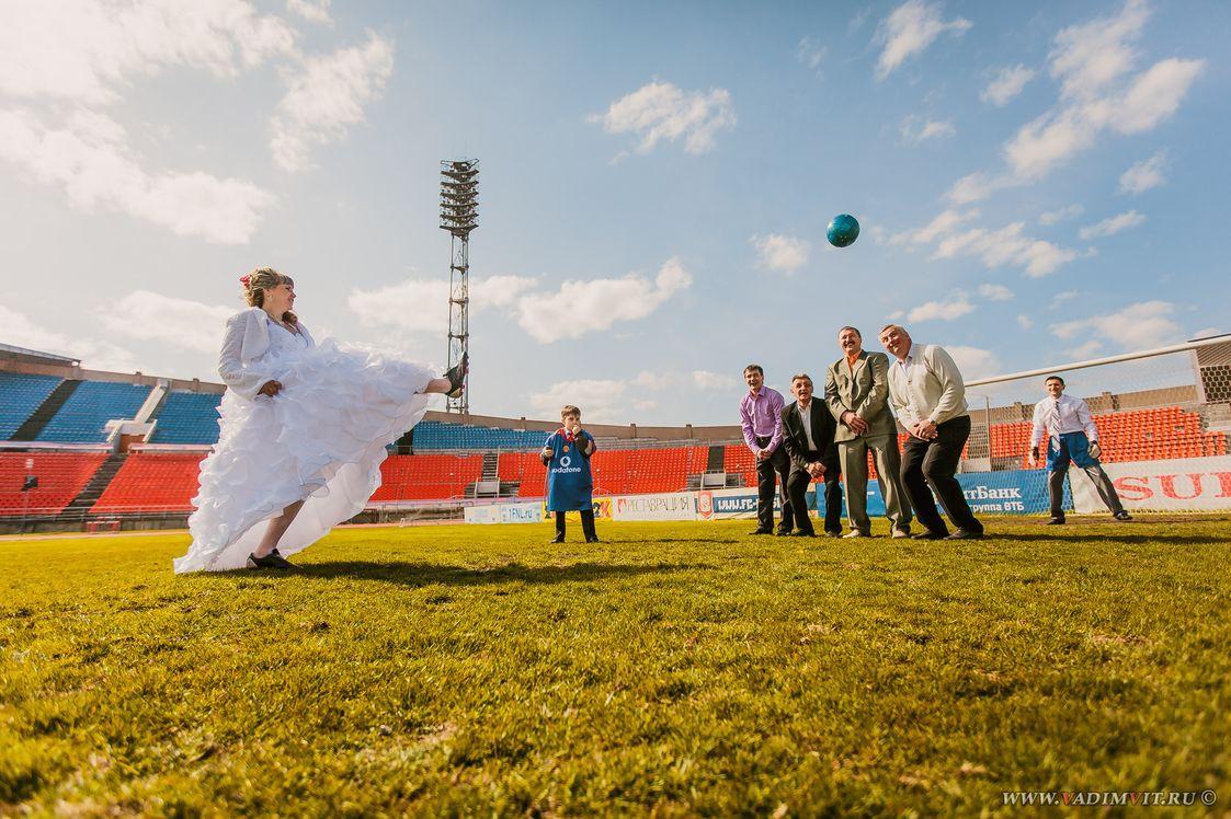 Стадион на о. Отдыха. Свадебный фотограф Вадим Витчинкин