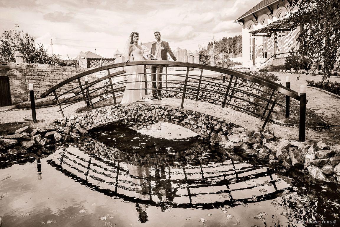 Лунный мост. Санаторий Манский плес. Свадебный фотограф Вадим Витчинкин