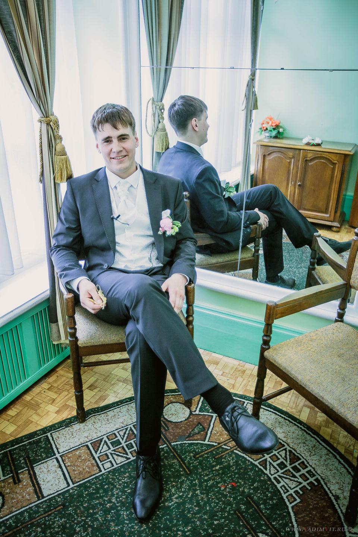Комната жениха во Дворце бракосочетания в Красноярске